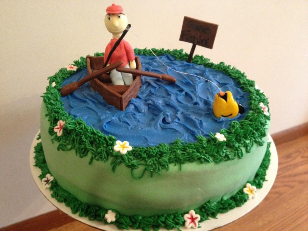 Funny Fishing Cakes Easy Fishing Cakes for Men Ideas New