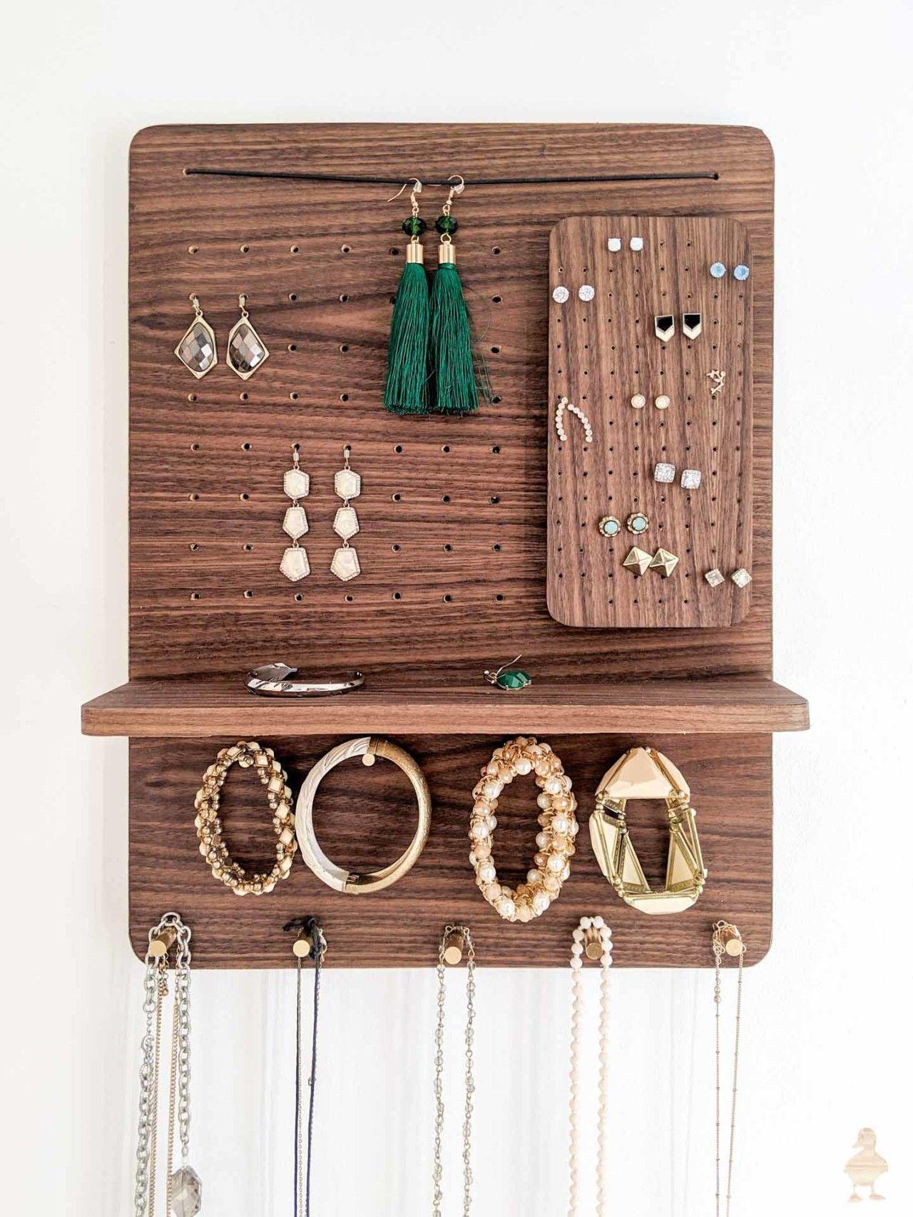 necklace holder Jewelry Holder Jewelry Rack jewelry hooks Mother/'s day gift jewelry storage daughter gift jewelry organizer