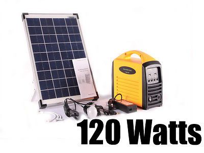 Portable Solar Generator 120 Watts Portable Solar Generator Solar Panels For Home Solar Generator