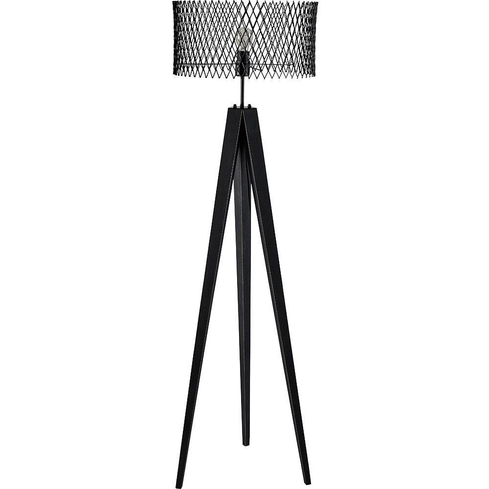Lampadaire Enzo Noir Lampadaire Luminaire Style Industriel