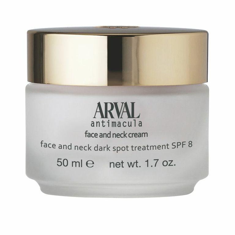 Face and neck cream Trattamento macchie scure viso e collo 50 ml #arvalcosmetici