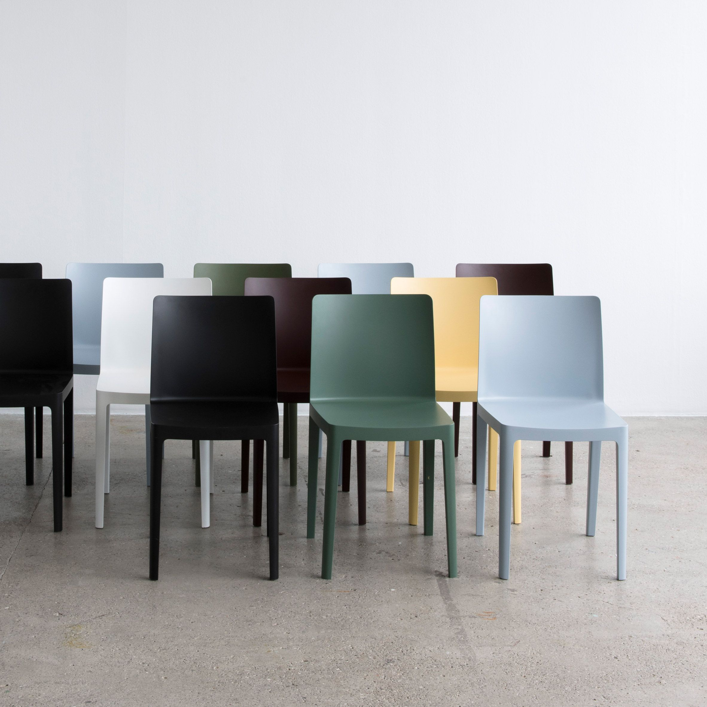 Bouroullec Brothers Design Low-cost Élémentaire Chair For