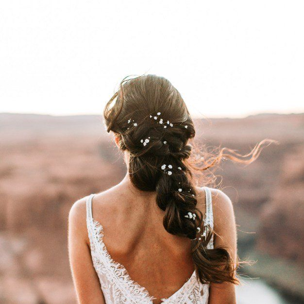 Boho Bridal Hairstyles For Carefree Bride: Boho Brides Will Swoon For This Wild, Free-spirited
