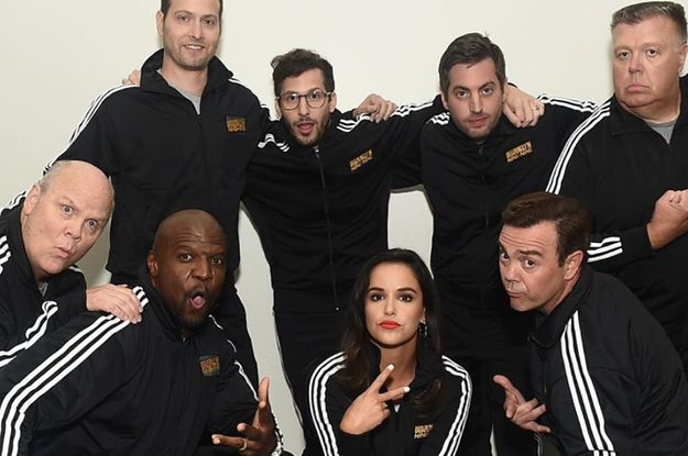 "22 ""Brooklyn Nine-Nine"" Behind-The-Scenes Moments That Prove Theyre The Best Cast Ever"