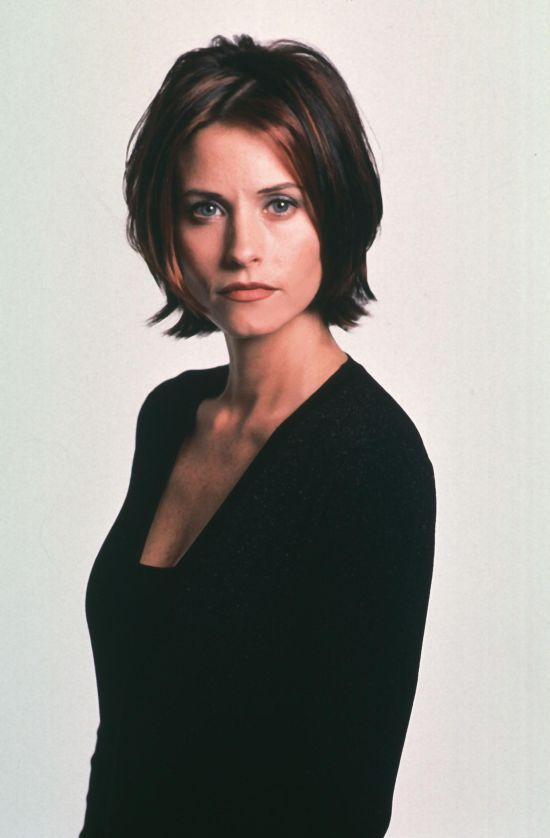 Courtney Cox layered bob haircut … | Hairstyles & Color | Pinte…