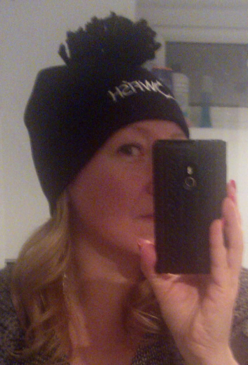 The blowfish mohawk beanie hat bok designs pinterest sally