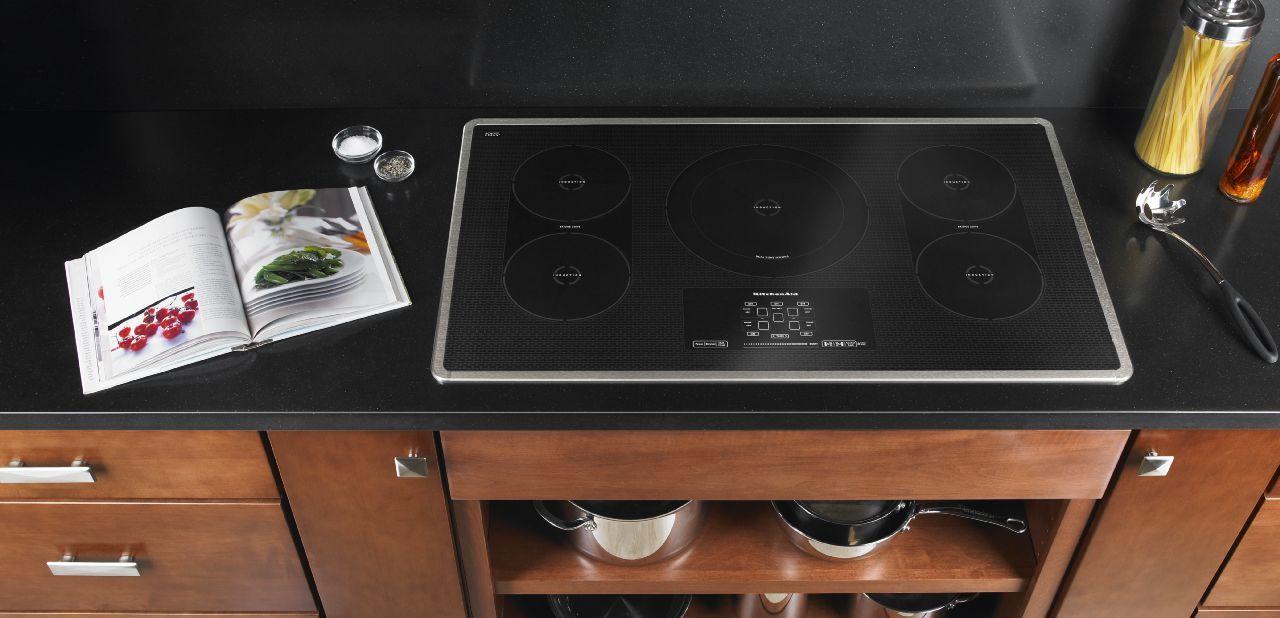 kitchenaid induction cooktop kitchen remodel pinterest kitchen rh pinterest com