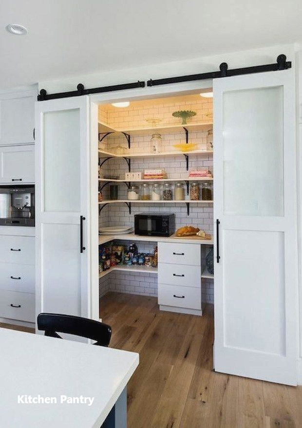 Kitchen Pantry Cabinets #kitchenpantrycabinets