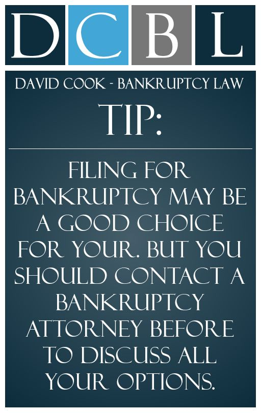 Dcbl Bankruptcy Lawyers Tip Filing For Bankruptcy May Be A Good Choice For Your But You Should Contact A Bankruptcy A Bankruptcy Attorneys Personal Qualities