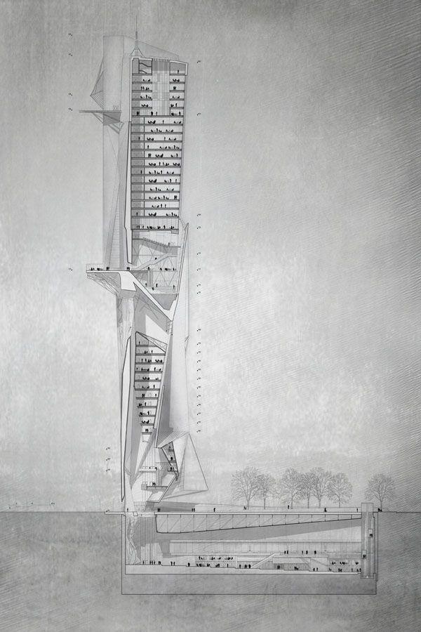 Atreo Skyscraper Reinterpretation Of The Ancient Greek Myth Atreus
