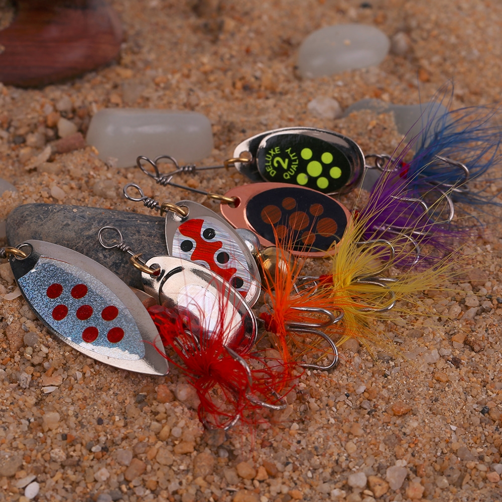 4.07$  Watch now - http://alio79.shopchina.info/go.php?t=32789691221 - 2017 New Arrival Mix 5 Pcs Fishing Lures Wobble Slow Fishing Tackle Bait Rapid Diving Action Fishing Product  #aliexpress