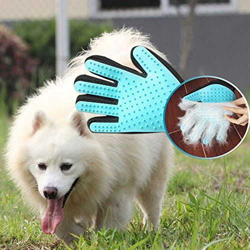 linapets 2 in 1 pet grooming glove dog and cat brush efficient pet rh pinterest com