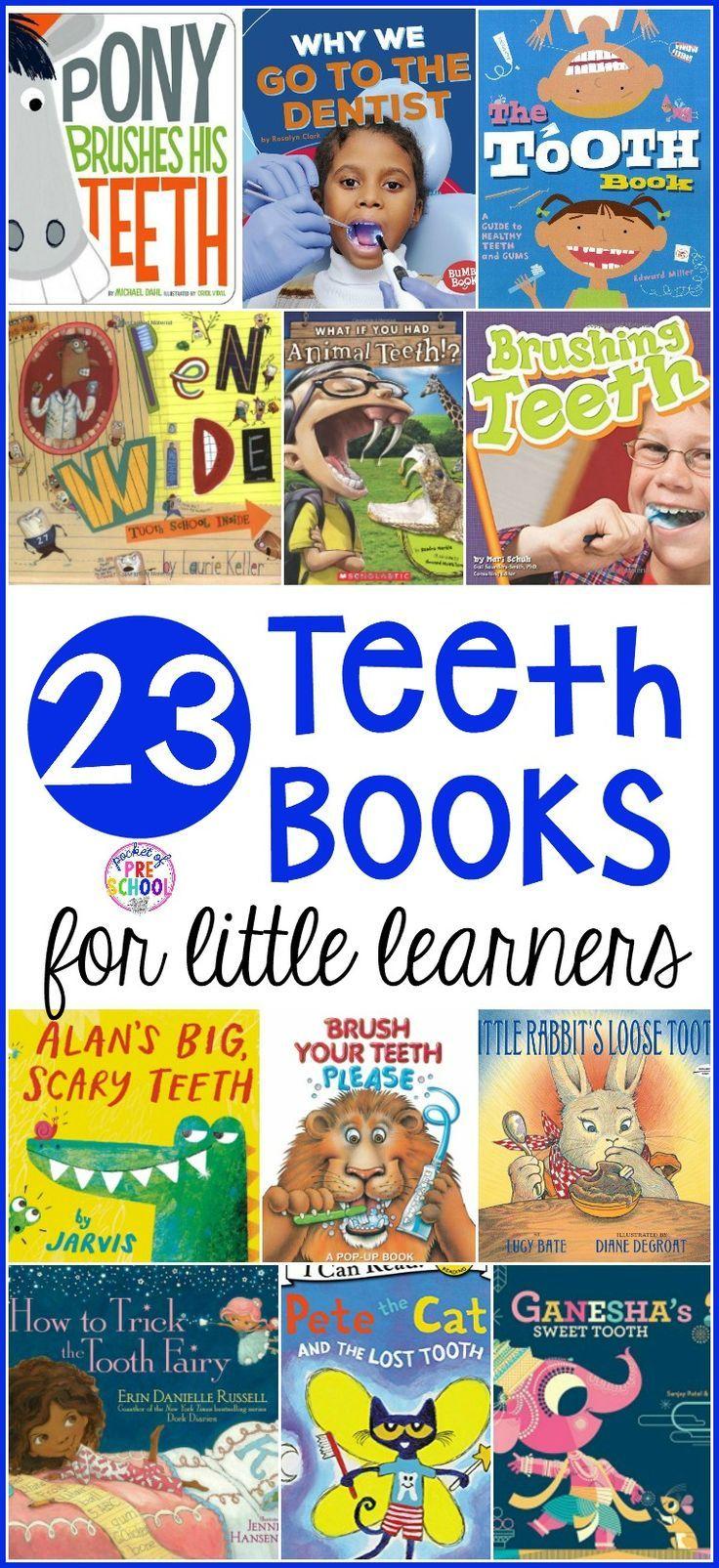 Teeth Books for Little Learners – Pocket of Preschool