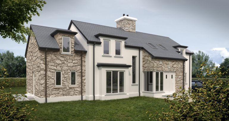 Superieur Inspiring New Build House Designs Photo Plans Barn Oak Self