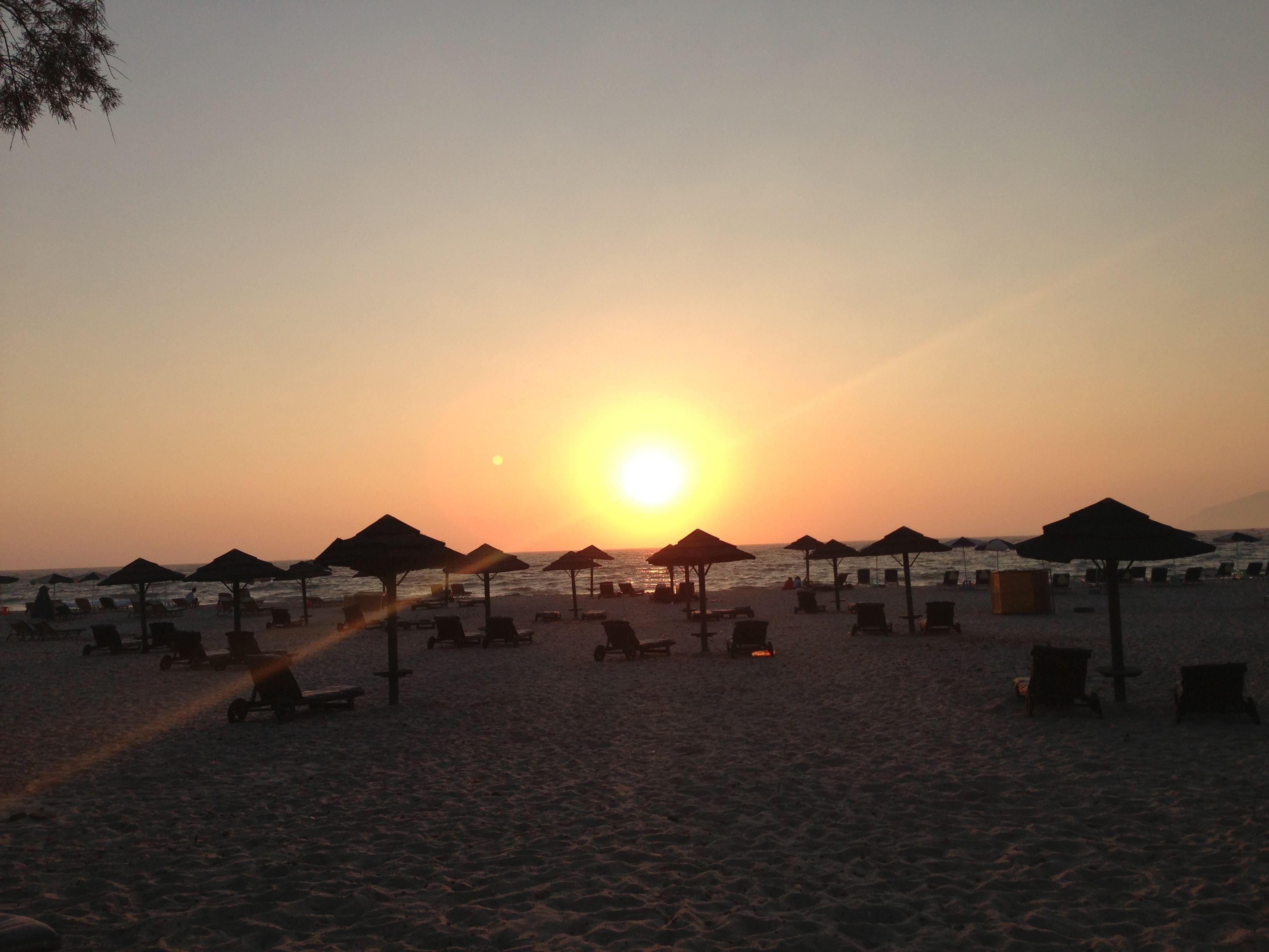 sunset - greece, kos