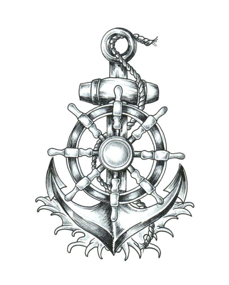 anchor tshirt ship's wheel tattoo drawing  anchor png is