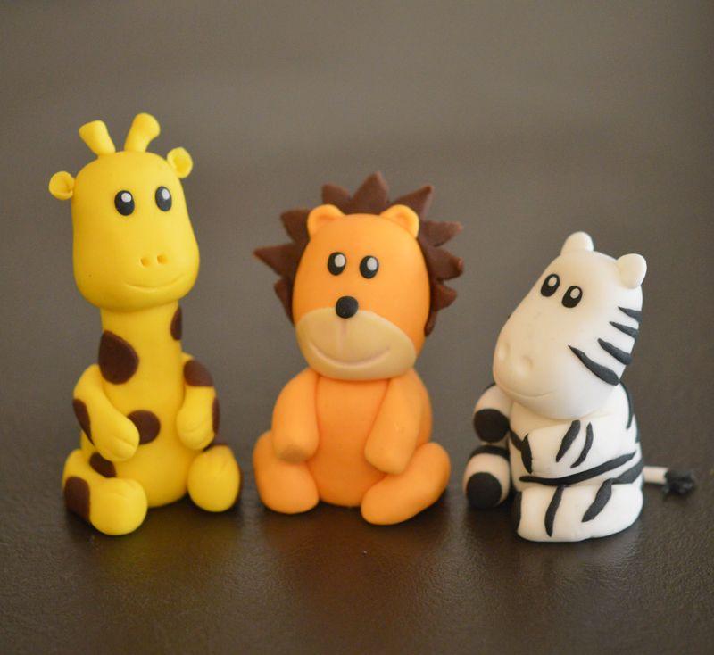 Animaux savane p te sucre girafe lion z bre pate sucre pinterest animaux savane - Patte de lion ...