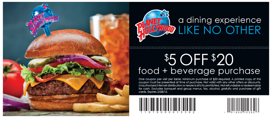 restaurants in las vegas coupons