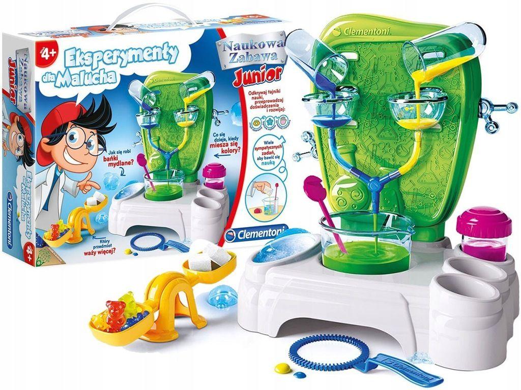 Clementoni Eksperymenty Dla Malucha Edukacyjne 7662700261 Oficjalne Archiwum Allegro Home Appliances