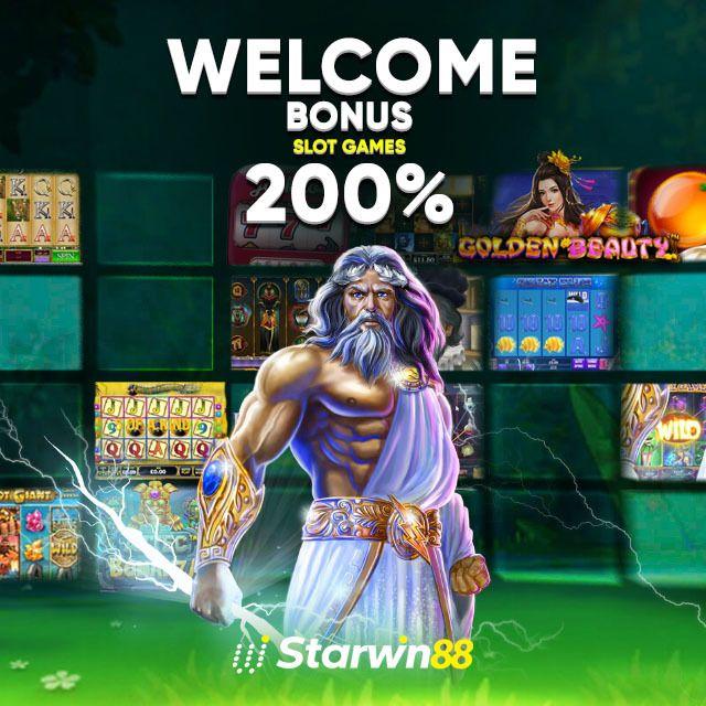 200% Welcome Bonus Slots