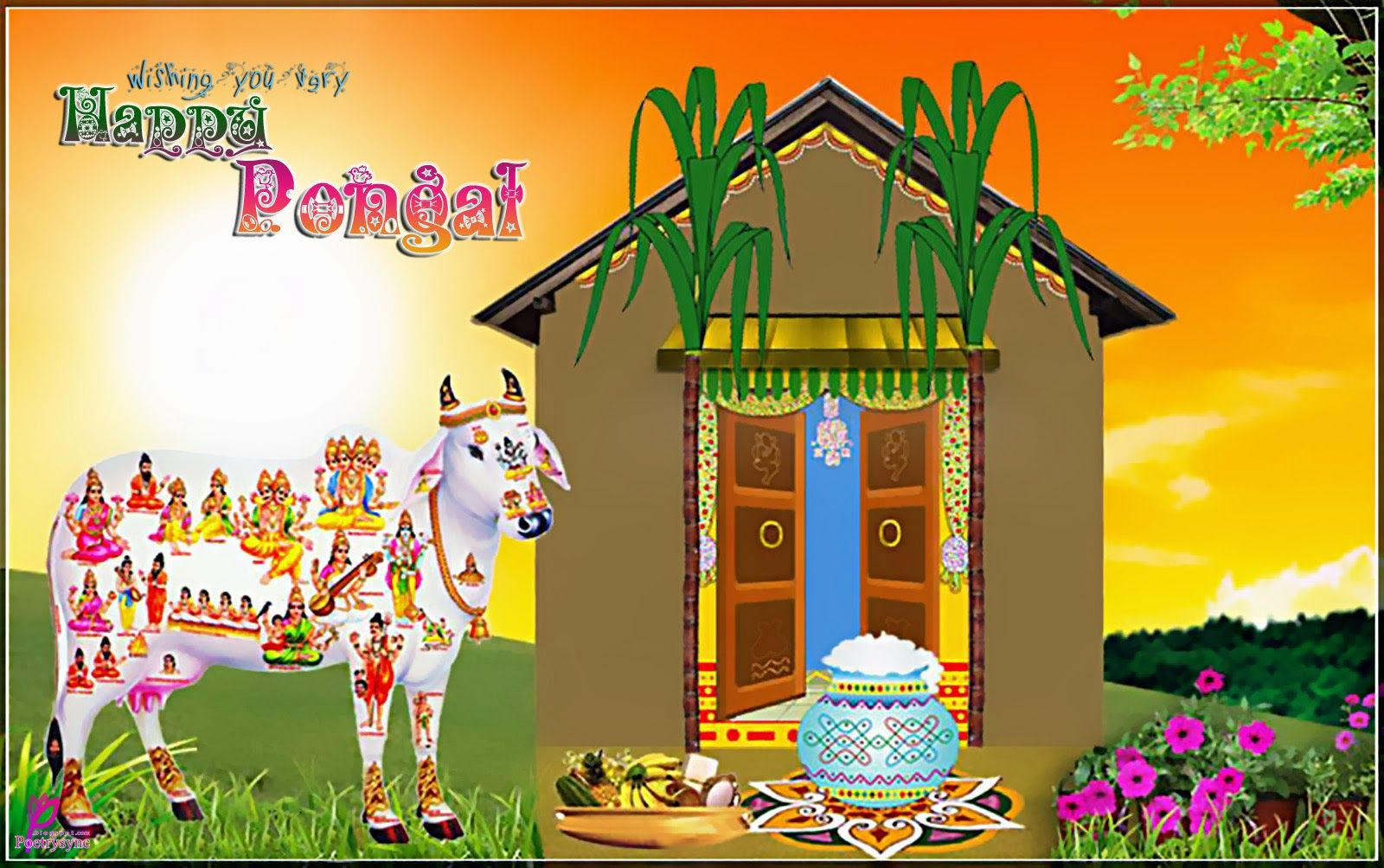 Happy pongal image for wishing makar shakanti festival in hindi happy pongal m4hsunfo Gallery