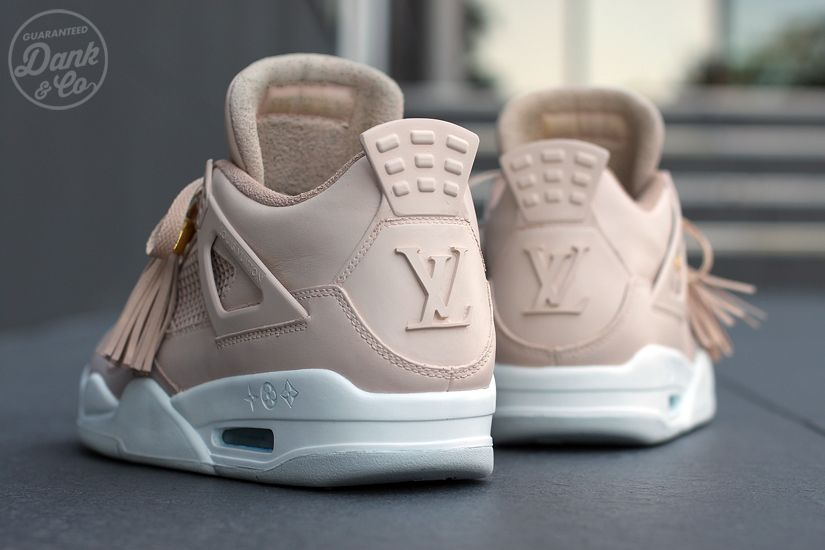 c5bd3283748d7 Air Jordan 4 Louis Vuitton Don Custom