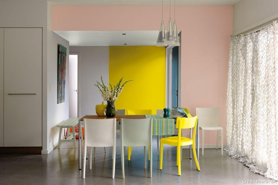 Déco pastel  comment dompter la douceur attitude Salons, Living - peinture satin ou mat