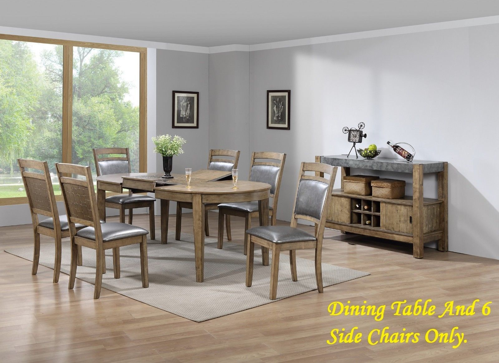 New Oval Top Dining Table Butterfly Leaf