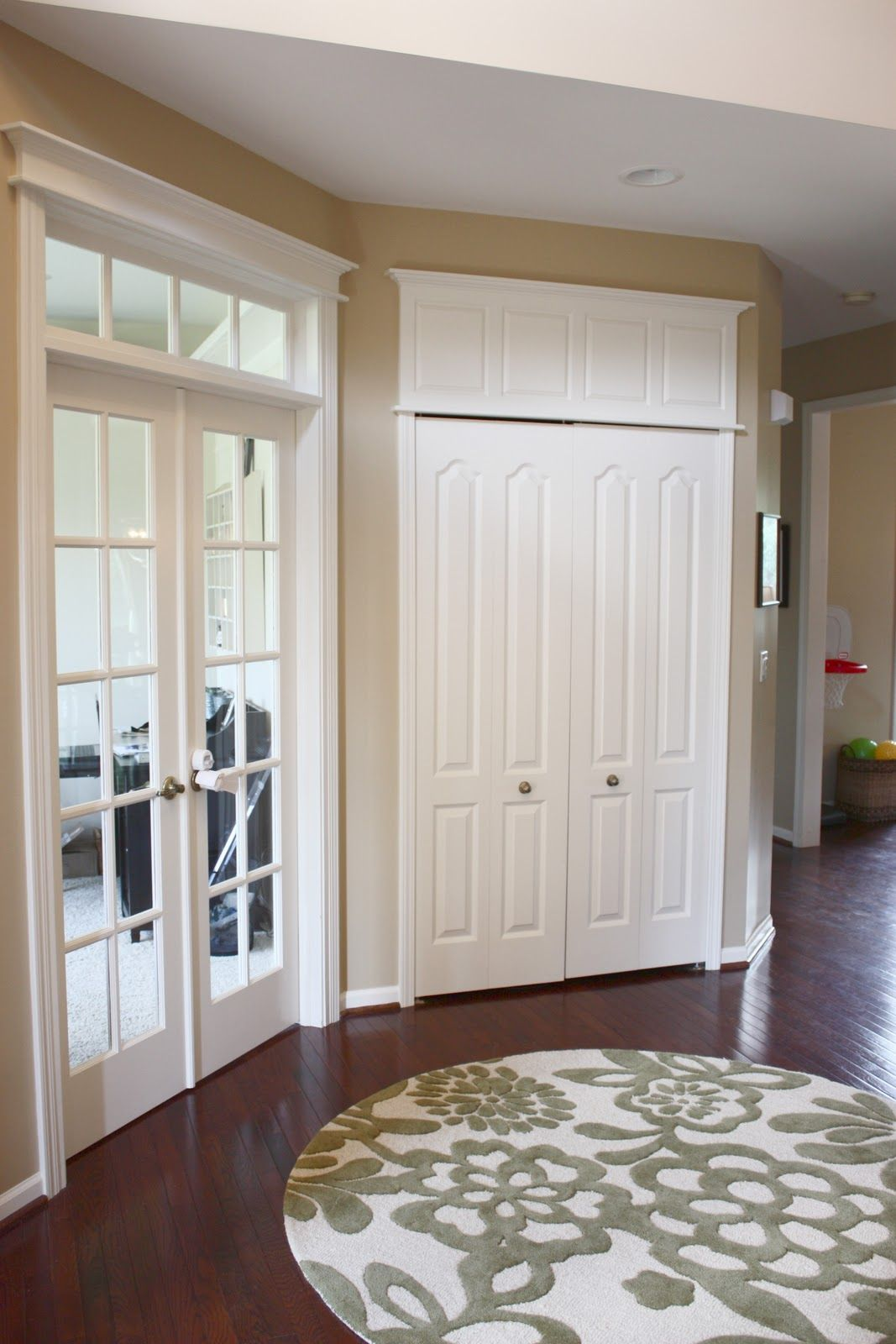 DIY How to Make Doors Appear Taller