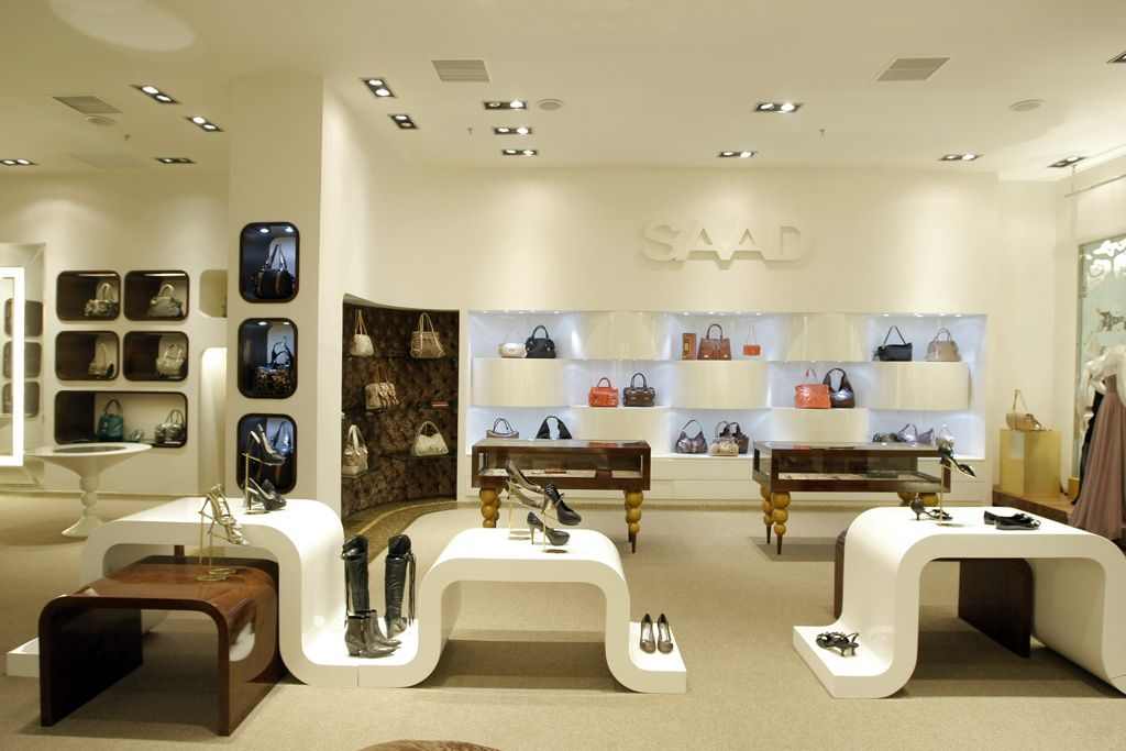 Maison Saad Fashion Store Interior Design With