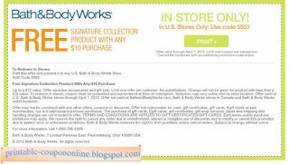 free printable bath and body works coupons childrens place coupons rh pinterest com