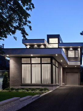 Winnet House Contemporary Exterior Toronto Altius Architecture Inc Small House Design Architecture House Designs Exterior Small House Design