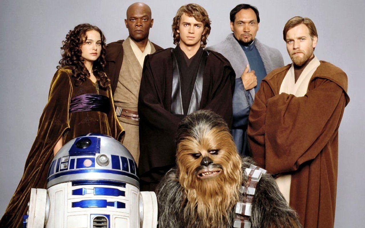 Star Wars Cast Of The Last Three Star Wars Movies Ster Fotografie