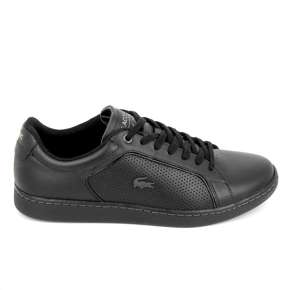 Chaussures de loisirs et basket de sport. LACOSTE Carnaby Evo 317 10 Noir
