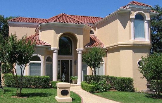 one of our favorite stucco homes we painted in the dominion area of rh pinterest com