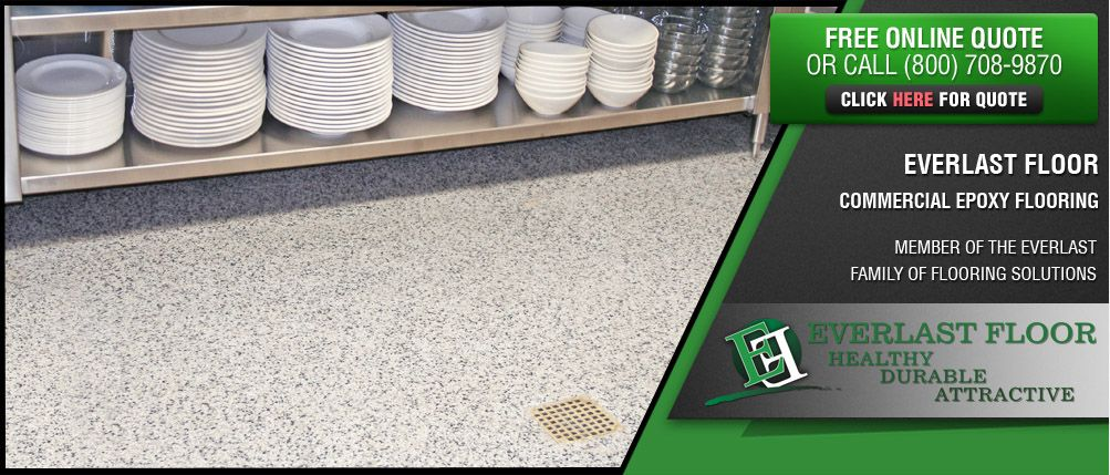 Everlast Epoxy Systems Commercial Restaurant Kitchen Flooring Epoxy Floor Flooring Everlast