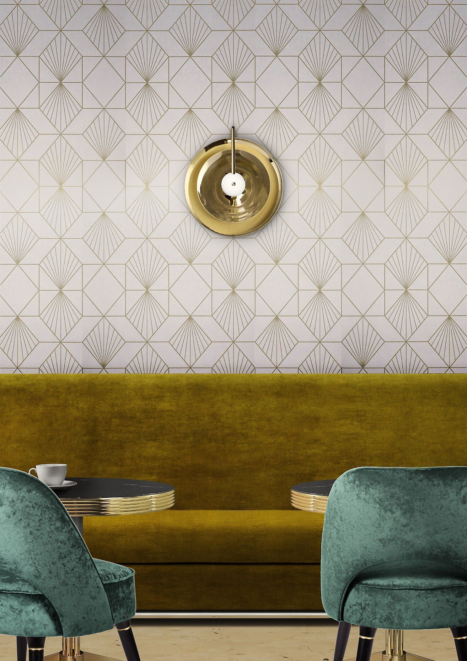 USA contemporary home decor and mid century modern