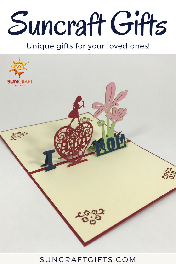 3d pop up cardi love mom 3d 3dcard mom mother