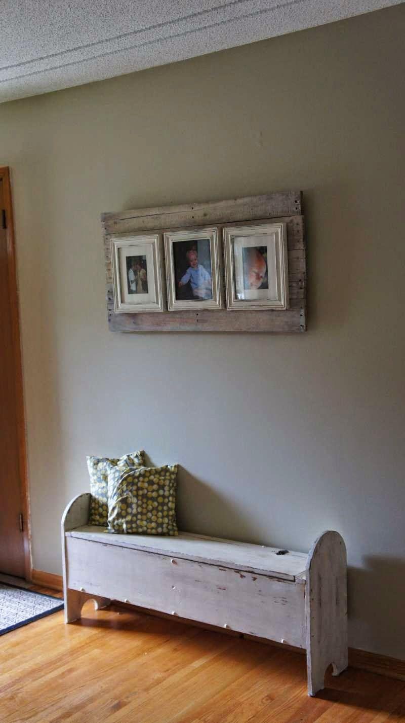 Muebles De Palets Como Hacer Un Marco Para Fotos Con Palets  ~ Como Hacer Un Marco Para Cuadro