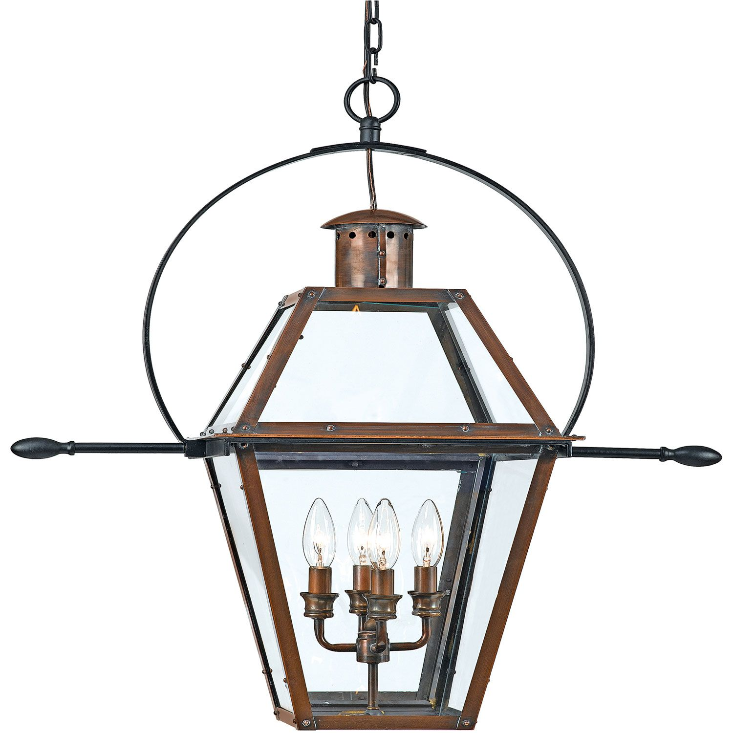 Quoizel rue de royal outdoor hanging pendant copper lantern quoizel rue de royal outdoor hanging pendant mozeypictures Image collections