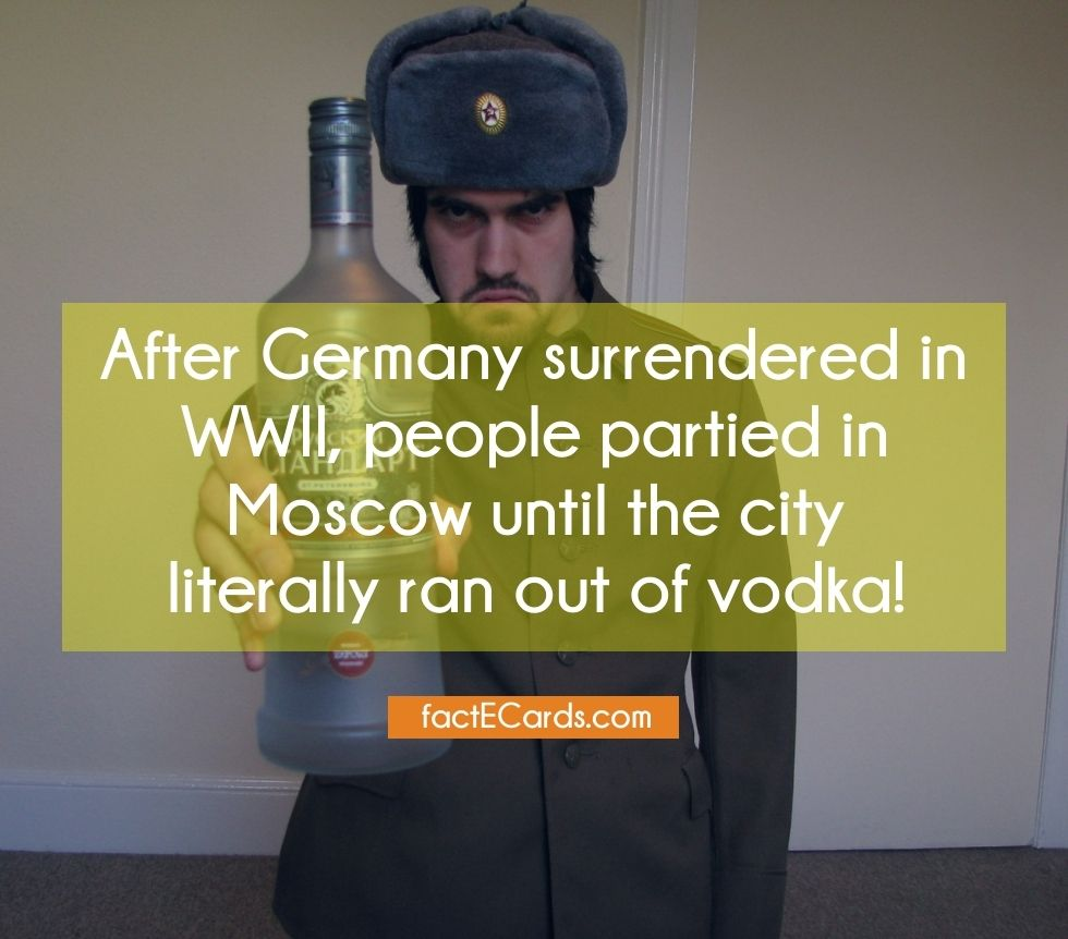 After Germany Surrendered In Wwii People Partied In Moscow Until The City Literally Ran Out