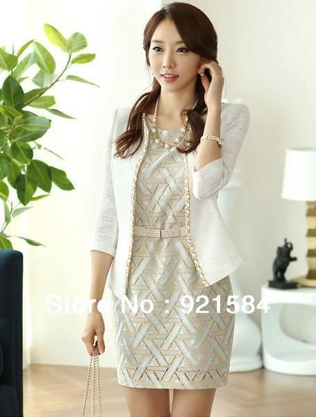 vestido sastre para dama traje sastre elegante capa  ab95bde0741a