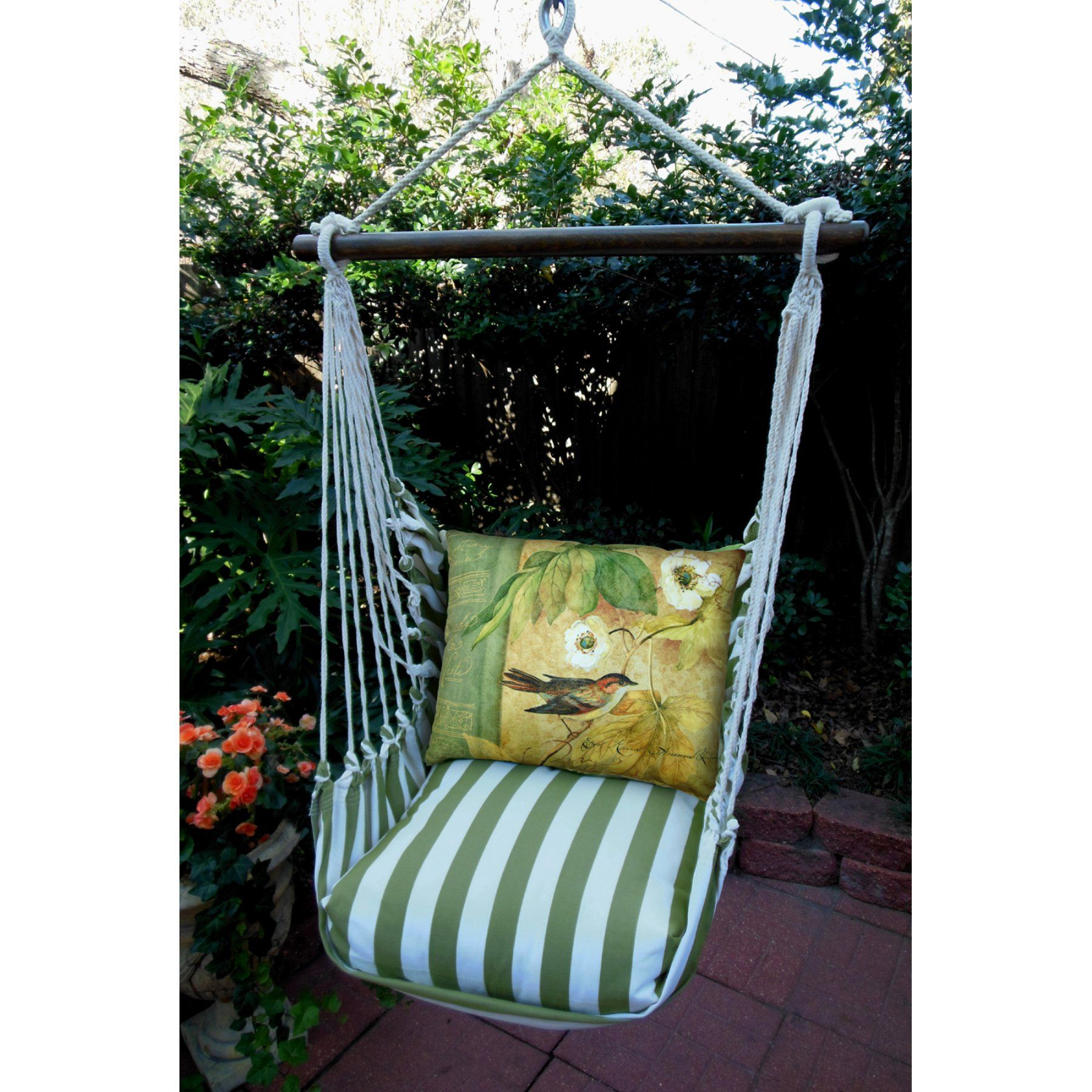Outdoor magnolia casual vine hammock chair u pillow set spbvwsp