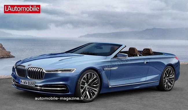 2018 Bmw 8 Series Coupe And Cabriolet Rendering With Images