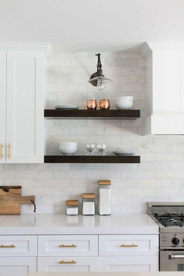 Best 40 Popular Modern Farmhouse Kitchen Backsplash Ideas With 400 x 300