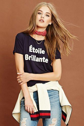Camiseta Étoile Brillante