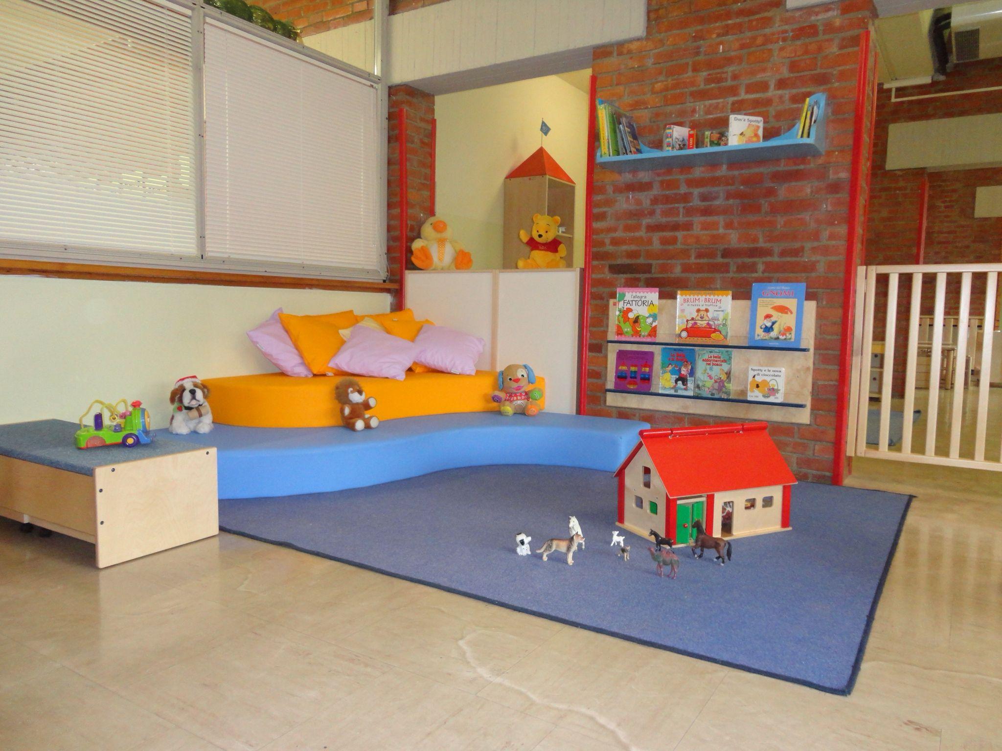 Asilo nido arredato da gonzagarredi montessori asilo for Montessori da ikea