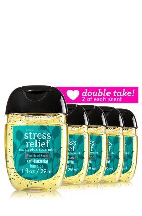 Eucalyptus Spearmint Tea Pocketbac Sanitizing Hand Gel Bath