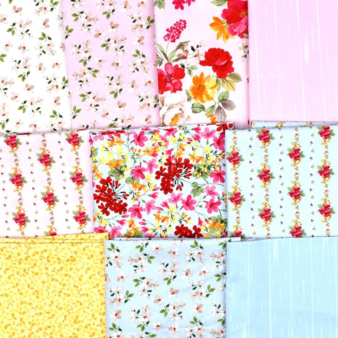 farmhouse floral upholstery fabric