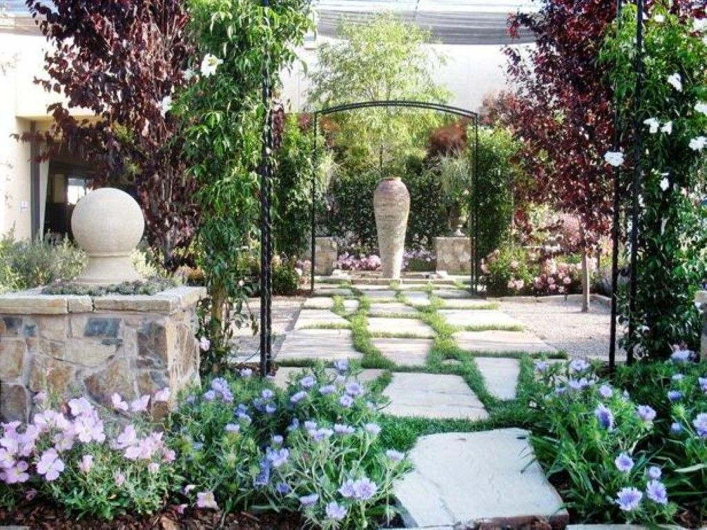 Love this stone patio look great as our side garden/patio | side ...